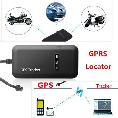 Mini Real time GPS Tracker Motorcycle Tracking Device Finding Anti-theft Locator