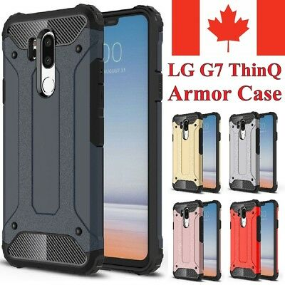 For LG G7 Case (ThinQ / One) - Hybrid Shockproof Heavy Duty Hard Armor Cover