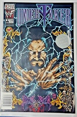 WWF Chaos Comics UNDERTAKER #1 Limited 1st Edition MINT April 1999 - PPV MAIL IN