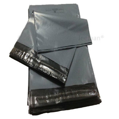 """500 Grey Mailing Bags 9"""" x 12"""" Strong Poly Postal Postage Mail Self Seal Cheap"""