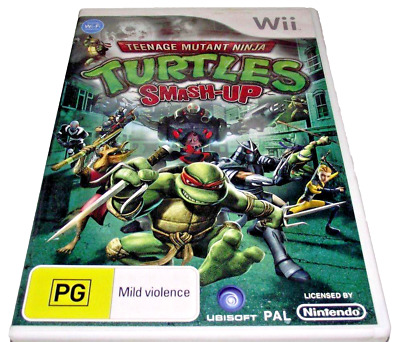 Teenage Mutant Ninja Turtles Smash Up Nintendo Wii PAL *Complete*