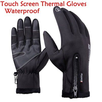 1Pair Touch Screen Thermal Gloves Neoprene Warm Waterproof Fashion Mitten Winter