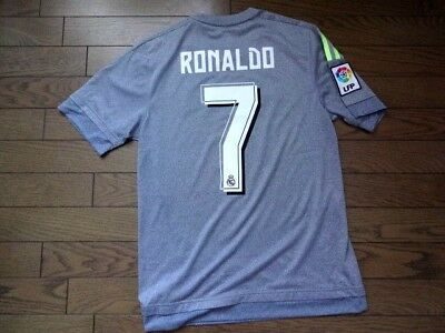 brand new ee492 672d7 REAL MADRID #7 Ronaldo 100% Original Jersey 2015/16 Away S Good Condition  Rare