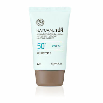 [THE FACE SHOP] Natural Sun Eco No Shine Hydrating Sun Cream 50ml