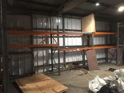 Warehouse Racking 11 Bays + Odd Bars & Uprights Dexion & Grey Tooth Type Locking