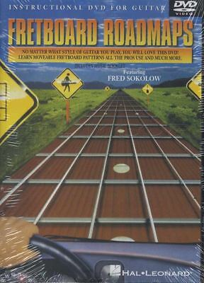 Fretboard Roadmaps Fred Sokolow Guitar Tuition DVD Learn How To Play