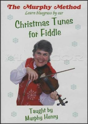 Christmas Tunes For Fiddle Learn How To Play Tuition DVD Violin