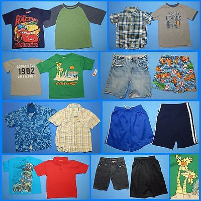 16 Piece Lot of Nice Clean Boys Size 5T 5 Spring Summer Everyday Clothes ss285
