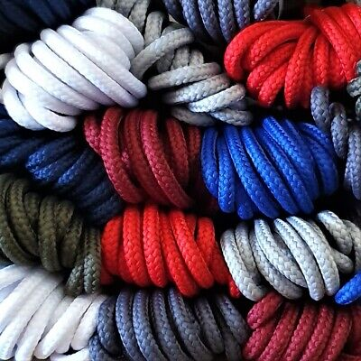 Shoe Boot Strong Round Laces - 19 colours - replacement laces for DM's