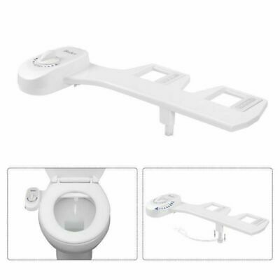 Adjustable Self~Cleaning Nozzle , Non~Electric Water Spray Bidet Toilet Seat USA