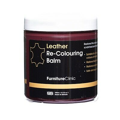 Leather Recolouring Balm, Leather Dye Cream, Restore Colour To Absorbent Leather