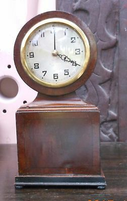 Unusual interesting Antique mantle clock
