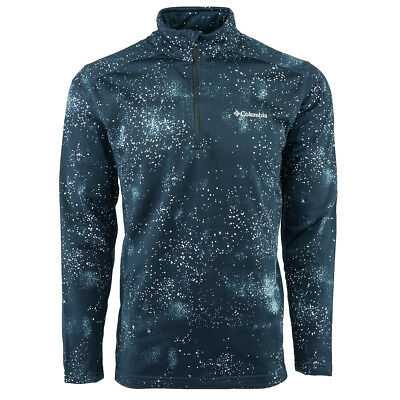 Columbia Men's Tech Pine Ridge Half Zip Printed Jacket