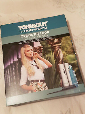 Toni And Guy - Create the Look - Tousled Waves
