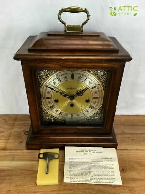 Howard Miller 612-437 Graham Bracket - Chiming Mantle Clock +Key