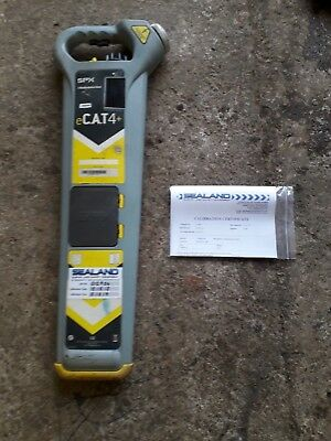 RADIODETECTION eCAT4+ CABLE AVOIDANCE TOOL/CAT DETECTOR SCANNER (Calibrated)