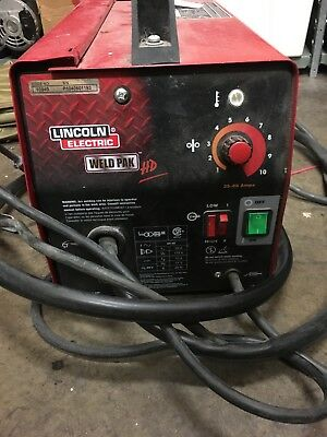 Lincoln Electric Weld Pak 100HD Wire-Feed Welder 9095685-1