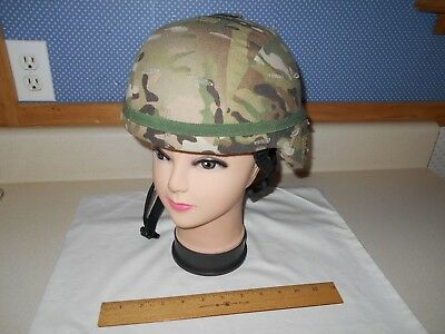 MSA Military Adv. Combat Helmet (ACH), Sz. Medium (M-5) w/ OCP Cover & New Band