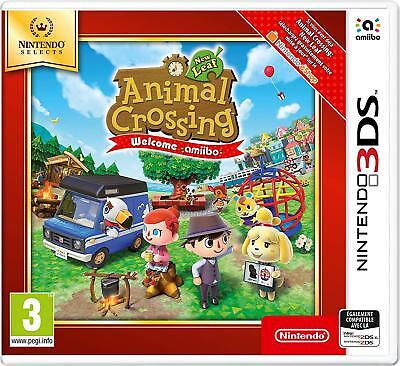 Animal Crossing New Leaf Select Jeu 3Ds Neuf