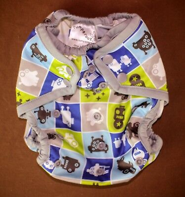 rumparooz One Size Diaper Cover * 100% polyester * Baby Infant * Robots