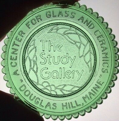 Maine Study Gallery Pairpoint Cup Plate Dorothy Lee Jones Museum Glass Baldwin