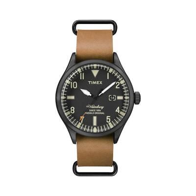 947f6197d55d Watch Timex Waterbury collection TW2P64700 Quartz Analogue Only time Steel  Black