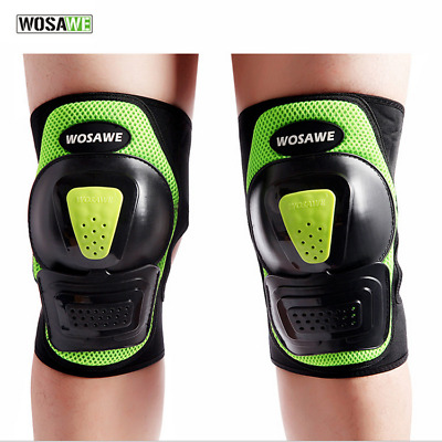WOSAWE 1 Pair Tactical Bike Knee Pad Safe Guard Extreme Sports Riding Kneepad