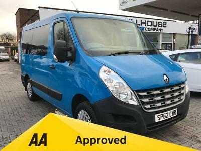 2012 62 Renault Master 2.3 Sl30 Dci Combi Quickshift 5D Auto Wheel Chair Access