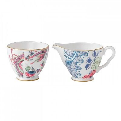Wedgwood Butterfly Bloom Creamer & Sugar Set