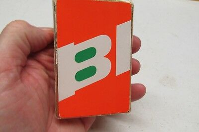 Braniff Plaing Cards With Spanish & Portuguese Terms