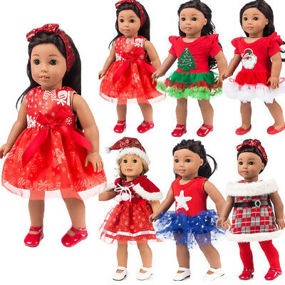 US Stock Kids Clothes for 18'' US Girl Our Generation My Life Doll Dress Outfits
