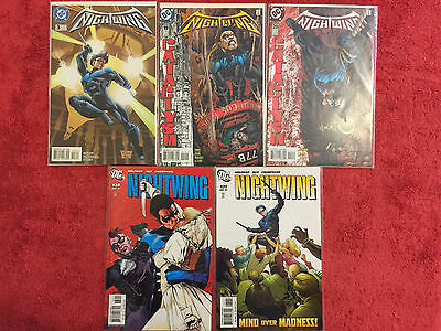 Nightwing 3 19 20 130 131 DC LOT of 5 VF+ 1996+ Cataclysm Dixon McDaniel Story