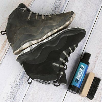 Reshoevn8r Shoe & Sneaker Cleaner 8 Oz. Bottle Brush Kit All Natural Solution