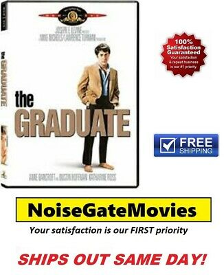 The Graduate (DVD, 2005) Dustin Hoffman, Anne Bancroft - Free Same Day Shipping!