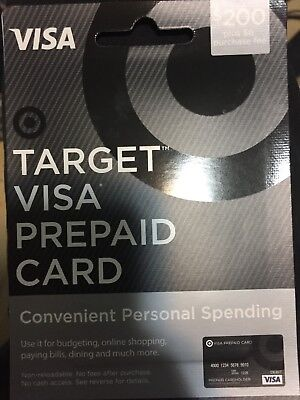 $200 VISA Card Activated ready to use