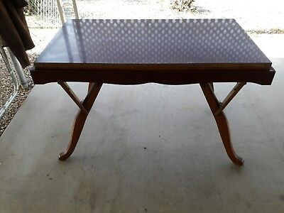 Vintage Antique Castro Convertible Coffee To Dinning Table