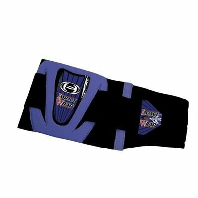 """HRP Sports 712-BL Impact Wrap in Blue-Sm -26-30"""" - Double Pull Design"""