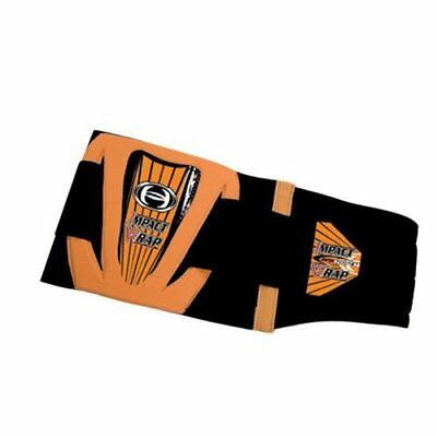 """HRP Sports 713-O Impact Wrap in Orange-Med -30-34"""" - Double Pull Design"""