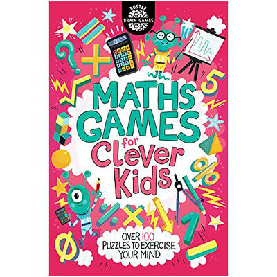 Gareth Moore Maths Games for Clever Kids Children's puzzle book Paperback NEW