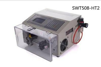 SWT508-HT2 automatic computer cable line round sheath stripping machine ss