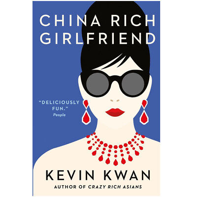 Kevin Kwan 3 books collection set Crazy Rich Asians trilogy pack A Novel NEW
