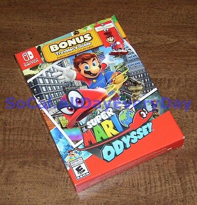 Super Mario Odyssey Starter Pack with Traveler's Guide Nintendo Switch BRAND NEW