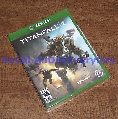 Titanfall 2 (Xbox 1 One) *******BRAND NEW & FACTORY SEALED******* titan fall xb1