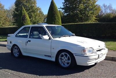 1991 Ford Escort 1.6 Rs Turbo 135Bhp White Series 2 Excellent Condition Restored