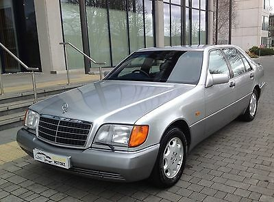 1992 Mercedes Benz 600 Sel/s600 Limo 6.0 V12 408Bhp Auto Silver Rare 71 In Uk