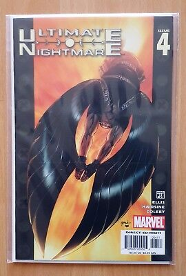 Ultimate Nightmare #4 - Marvel Comics (2005) - Warren Ellis Story * Nm *