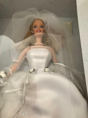 Vtg 1999 Mattel Blushing Bride Barbie Blonde 26074