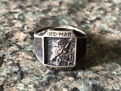 Rare Old Man Of The Mountain Ring Great Stone Face New Hampshire