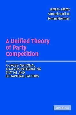 A Unified Theory of Party Competition: A Cross-National Analysis Integrating Spa