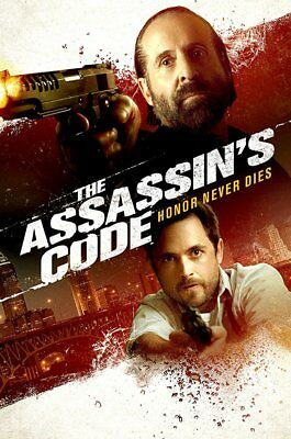 """The Assassin's Code (2018)"" DVD  2018 FACTORY SEALED"